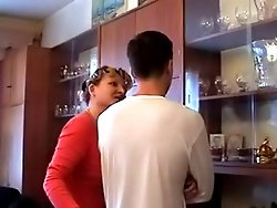 Horny mature housewife seduces a teen for a nasty hard fuck