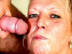 His mother in law gets exceptionally horny so he gives her a visit with his big hard cock