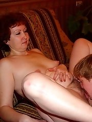 Big ass mature bitch gets a lovely young fucker to mess around with